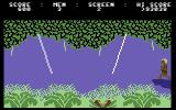 Jungle Quest Commodore 64 Jumping from rope to rope