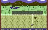 Daily Double Horse Racing Commodore 64 Very nice parallax scrolling