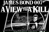 James Bond 007: A View to a Kill Macintosh Title screen