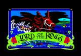 The Fellowship of the Ring Amstrad CPC Loading screen