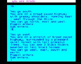The Fellowship of the Ring BBC Micro 3 black riders