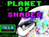 Planet of Shades ZX Spectrum Loading screen