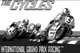 The Cycles: International Grand Prix Racing Macintosh Title screen