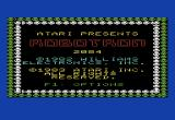Robotron: 2084 VIC-20 Title screen