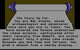 The Serpent's Star Commodore 64 Intro start