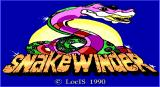 SnakeWinder DOS Title Screen
