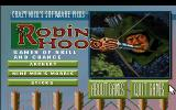Crazy Nick's Software Picks: Robin Hood's Games of Skill and Chance DOS Title Screen