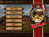 Cossacks: Back to War Windows Startup menu