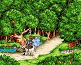 Serf City: Life is Feudal Amiga Intro - return from journey