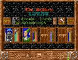 Serf City: Life is Feudal Amiga Main Menu