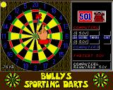 Bully's Sporting Darts Amiga The game is fastest 501