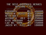Disposable Hero Amiga CD32 Hi scores