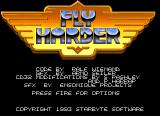Fly Harder Amiga CD32 Title screen