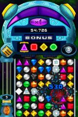 Bejeweled: Twist Nintendo DS A lightning gem is in action