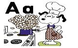 Charlie Brown's ABCs Commodore 64 Apron
