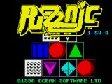Puzznic ZX Spectrum Loading screen