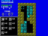Puzznic ZX Spectrum Each level has a different puzzle to solve