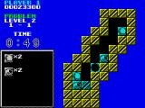 Puzznic ZX Spectrum Some levels, such as this one, have pieces that move