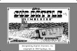 Sub Battle Simulator Macintosh Title screen