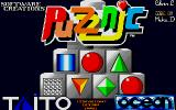 Puzznic Amiga Loading screen