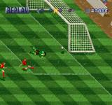 International Superstar Soccer Deluxe PlayStation Goal replay.