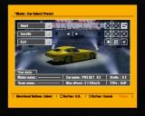 R4 Ridge Racer Type 4 PlayStation Selecting a car