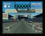 R4: Ridge Racer Type 4 PlayStation Starting the race from the cockpit view