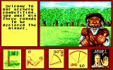 Iron Lord DOS Archery contest mini-game