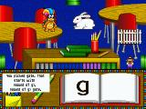 Mario's Early Years: Fun With Letters DOS Finding a word that begins with the letter G.