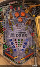 Pinball League: Hardhat Zone Windows Phone Playing using the portrait mode