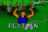 Platoon Apple II Loading screen