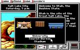 Where in the U.S.A. Is Carmen Sandiego? (Enhanced) DOS Which building to you go to? (EGA/TANDY)