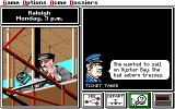 Where in the U.S.A. Is Carmen Sandiego? (Enhanced) DOS Getting some clues. (EGA/TANDY)