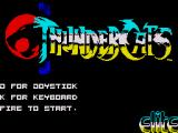 Thundercats ZX Spectrum Title Screen