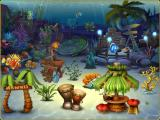Fishdom 3 Windows Tropical Paradise tank - again no too interesting animations, mostly objects moving and making bubbles.