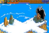 Heimdall 2: Into the Hall of Worlds Amiga CD32 On the way to my ship