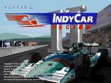 IndyCar Racing II DOS Splash screen