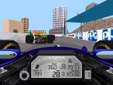 IndyCar Racing II DOS Cockpit view (SVGA)