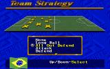 FIFA International Soccer DOS Select Your Strategy