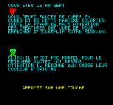 Hu*bert Oric One of the instructions page (in French)