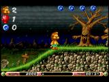 Brian the Lion Starring In: Rumble in the Jungle Amiga The Graveyard (AGA Version)