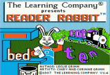 Reader Rabbit Apple II Title screen