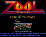 Zool Amiga CD32 Title screen