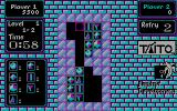 Puzznic DOS Gameplay on the second puzzle (CGA color)