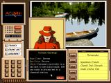 Where in the USA Is Carmen Sandiego? (Deluxe Edition) DOS Carmen's dossier.
