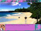 Leisure Suit Larry 6: Shape Up or Slip Out! Windows 3.x Hmm, the beach is rather empty (CD-ROM version)