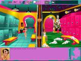 Leisure Suit Larry 6: Shape Up or Slip Out! Windows 3.x Larry wanders around the locker room in a towel (CD-ROM version)