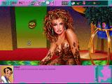 Leisure Suit Larry 6: Shape Up or Slip Out! Windows 3.x Talking with Char in the mud bath (CD-ROM version)