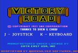 Ikari Warriors II: Victory Road Apple II Title screen