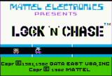 Lock 'n' Chase Apple II Title screen